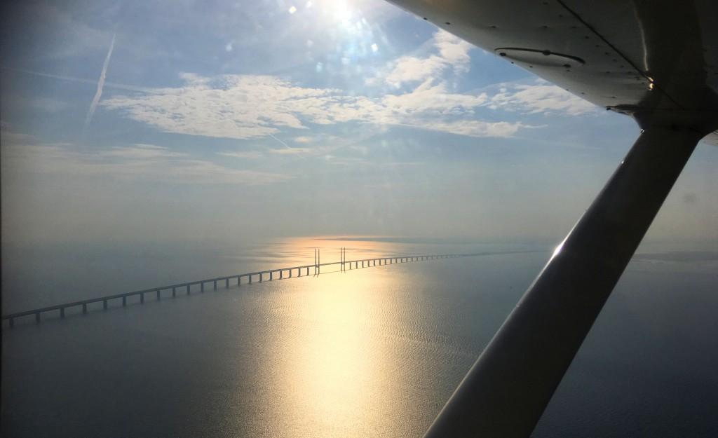 Öresundsbron mellan Malmö- Köpenhamn