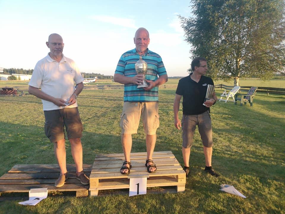 Peter Hellström tog bronset i Gävle på SM Precisionsflyg 24-27 Juli