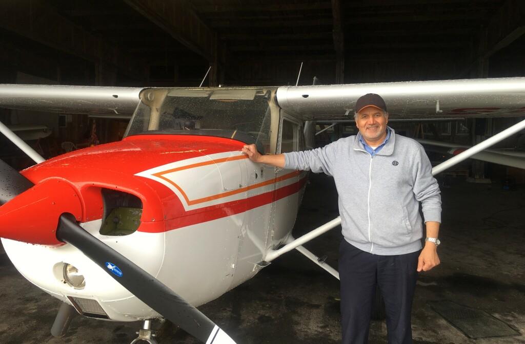 Stort Grattis till Samir Youssef som klarade uppflygningen 210503. TS Kontrollant var Ulf Hansson. FI Robert Fasth tog bilden.