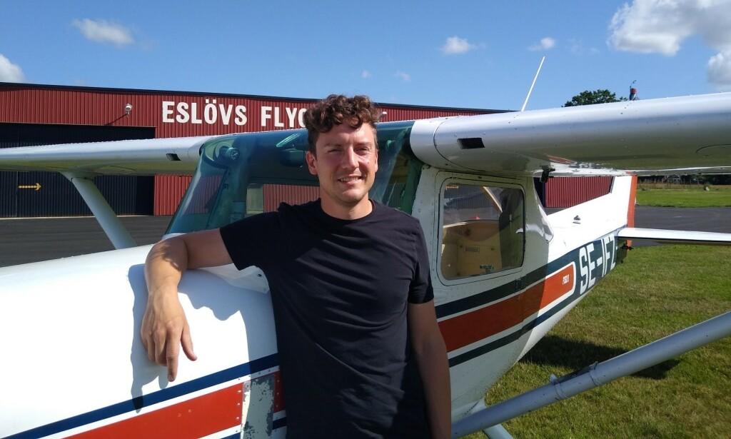 Stort grattis till Christopher Polteg som flög EK provet 2021-07-19. På marken övervakade FI Robert Fasth.