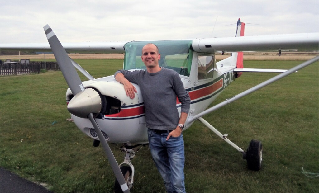 Stort Grattis till Martin Berntsson som klarade uppflygningen till PPL 210829. TS inspektör var Magnus Tenghagen och FI Robert Fasth.